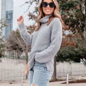 LAST $ DROP! Chunky Oversized Turtleneck Sweater